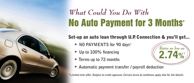 No auto payment for 90 days